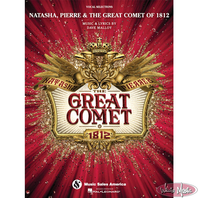 Natasha,Pierre & The Great Comet Of 1812  -  Vocal Selections Book