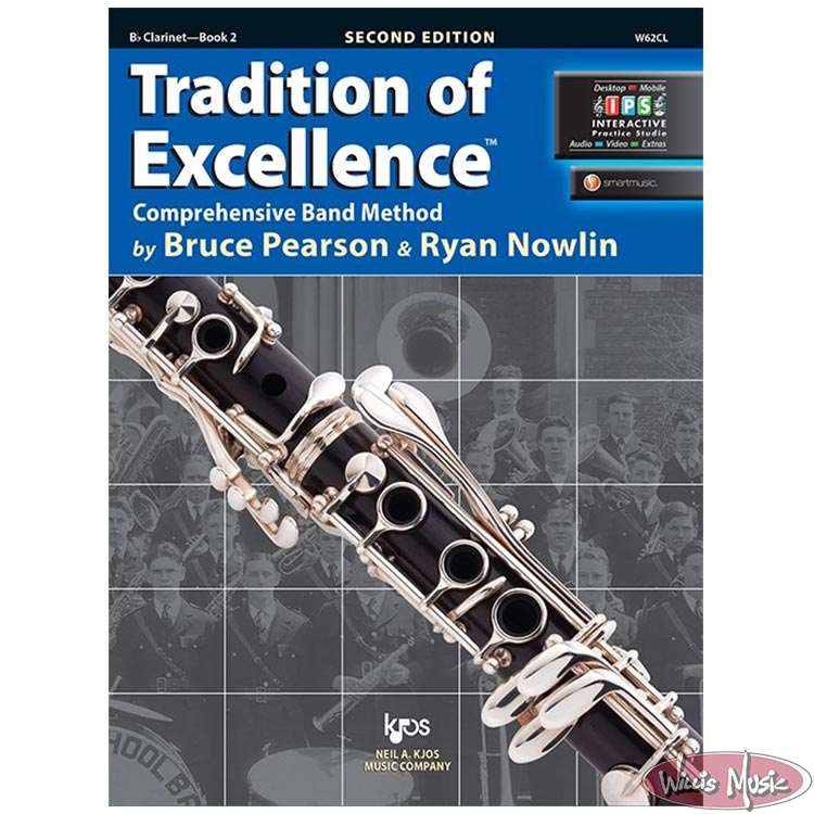 Tradition Of Excellence Book 2 Bb Clarinet