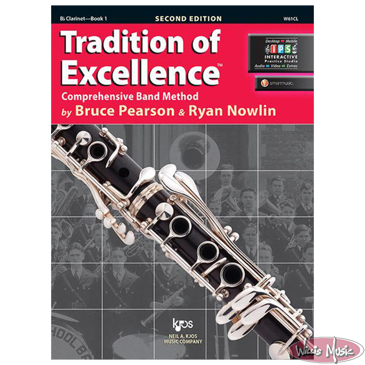 Tradition Of Excellence Book 1 Bb Clarinet