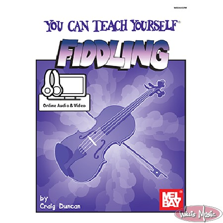 You Can Teach Yourself Fiddling Book  Online Audio & Video
