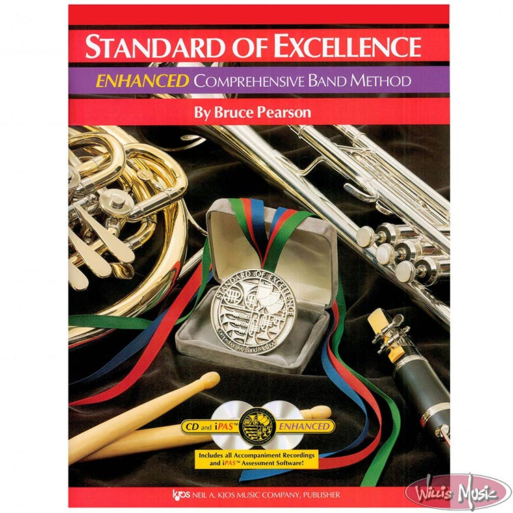 Standard Of Excellence Drums & Mallet Percussion Book 1 Enhanced