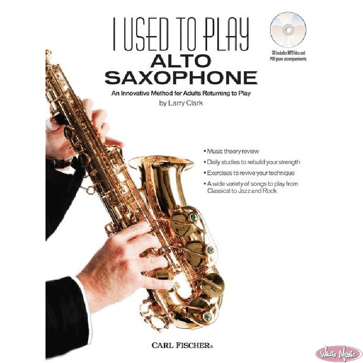 I Used To Play Alto Saxophone  Book with Online Access