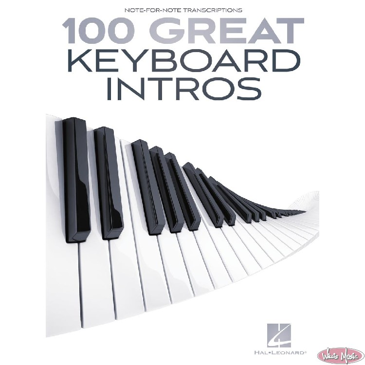 100 Great Keyboard Intros - Note-For Note Transcriptions