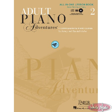 Adult Piano Adventures: All in One Lesson Book 2 with CD