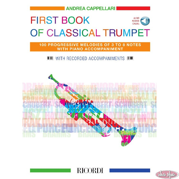 First Book Of Classical Trumpet Book with Audio  Access