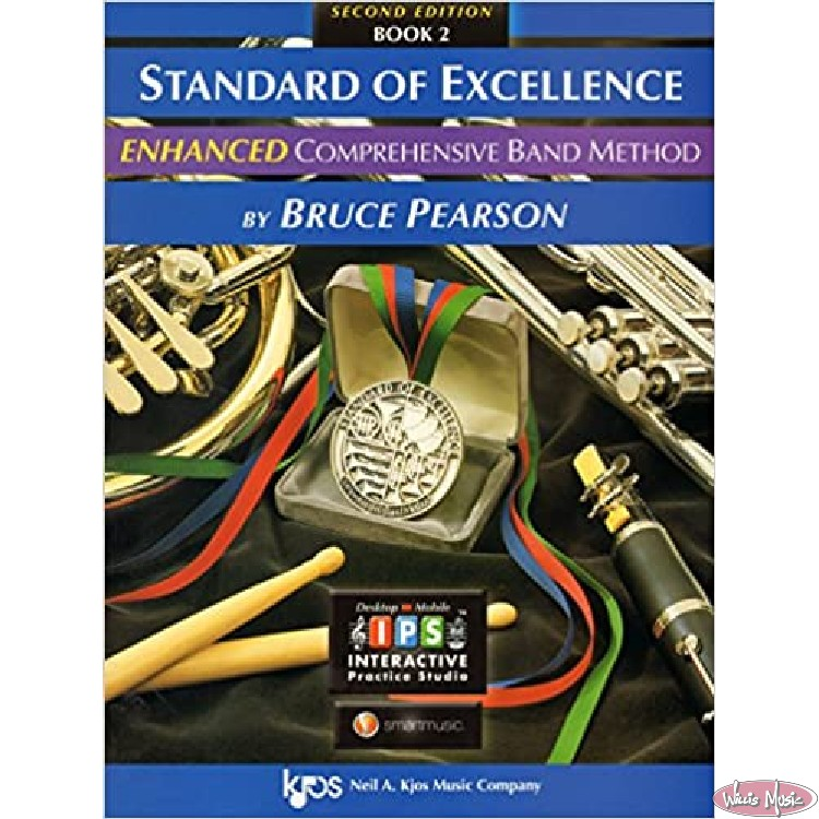 Standard Of Excellence Enhanced Book 2 Drums & Mallet Percussion