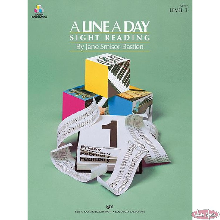 Line A Day Sight Reading  Level 3