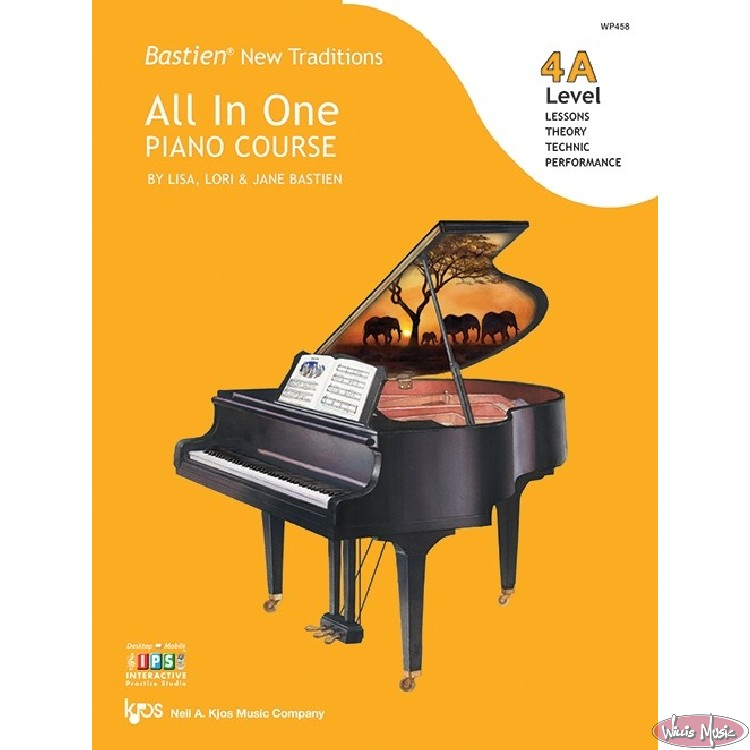 Bastien New Traditions: All In One Piano Course - Level 4A