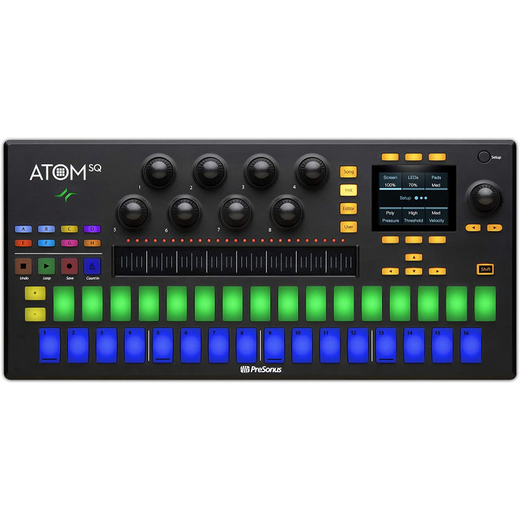 Presonu Atom SQ Performance and Production Controller