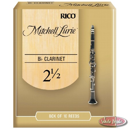 Mitchell Lurie Clarinet Reeds 2.5 Box Of 10