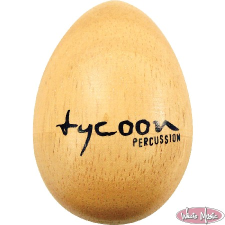 Tycoon Wooden Egg Shaker Small Pair