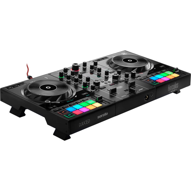 Hecules DJ Control Inpulse 500 2-deck USB DJ controller for Serato DJ and DJUCED (included)
