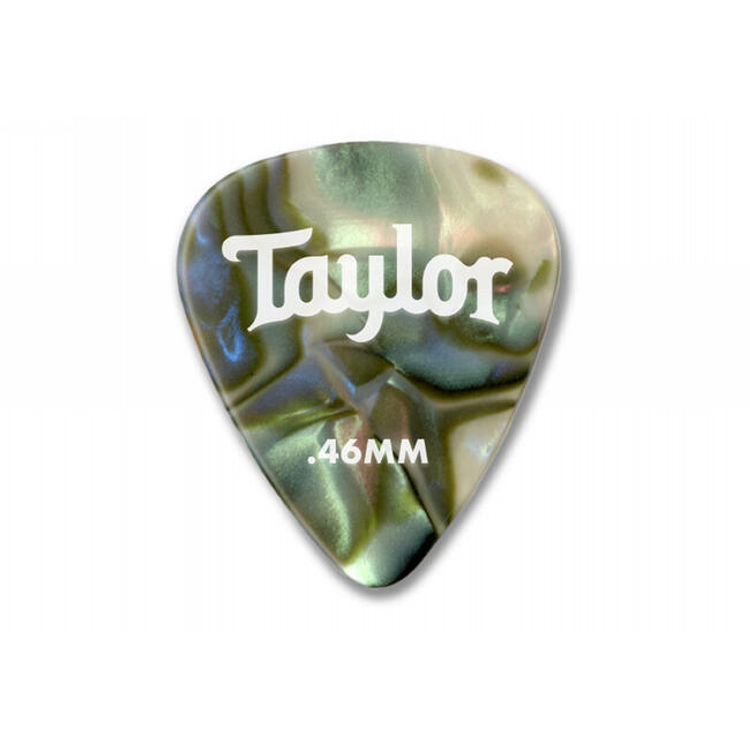 Taylor 80734 Pick Pack - 12 Celluloid 351 Abalone 0.46mm