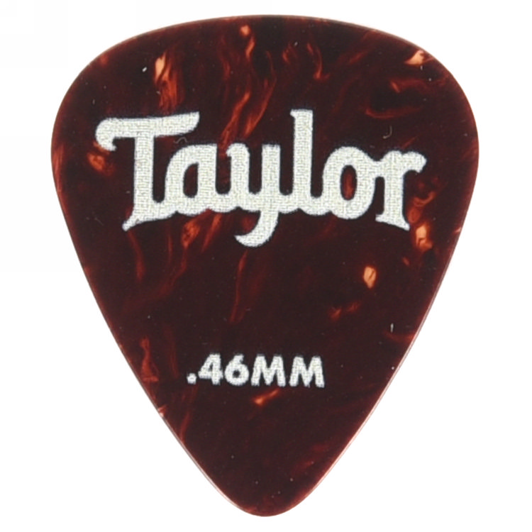 Taylor 80774 Pick Pack - 12 Celluloid 351 Tortoise 0.46mm