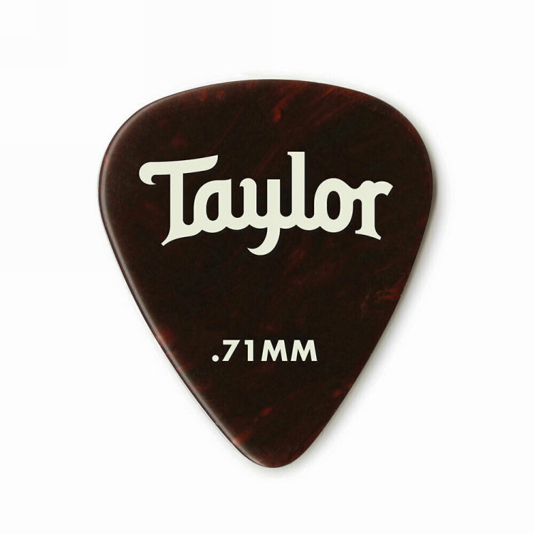Taylor 80775 Pick Pack - 12 Celluloid 351 Tortoise 0.71mm