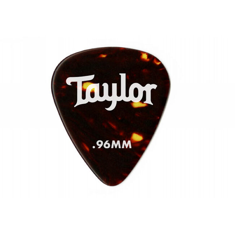 Taylor 80776 Pick Pack - 12 Celluloid 351 Tortoise 0.96mm