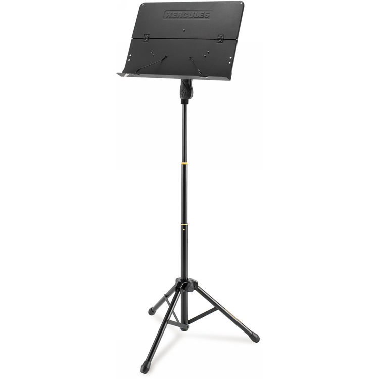 Hercules BS408B EZ Grip 3-Section Tripod Orchestra Stand With Foldable Desk