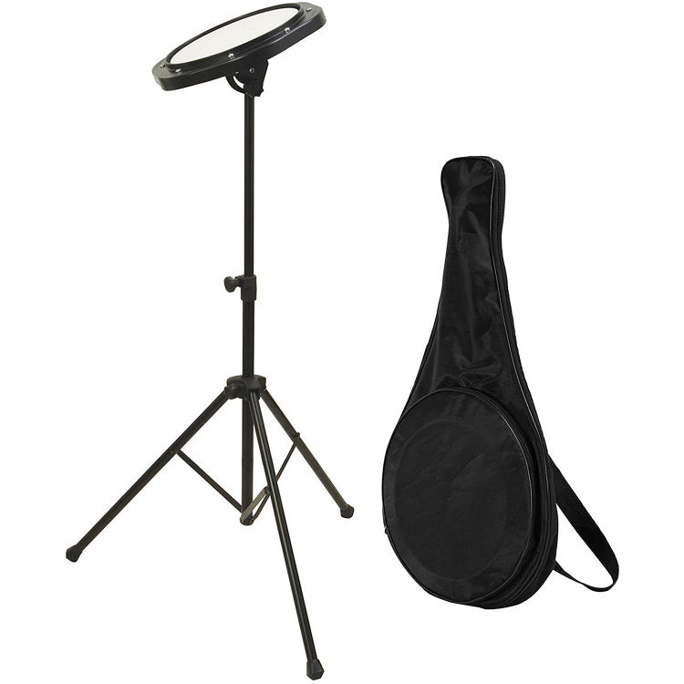 On Stage Drum Practice Pad with Bag