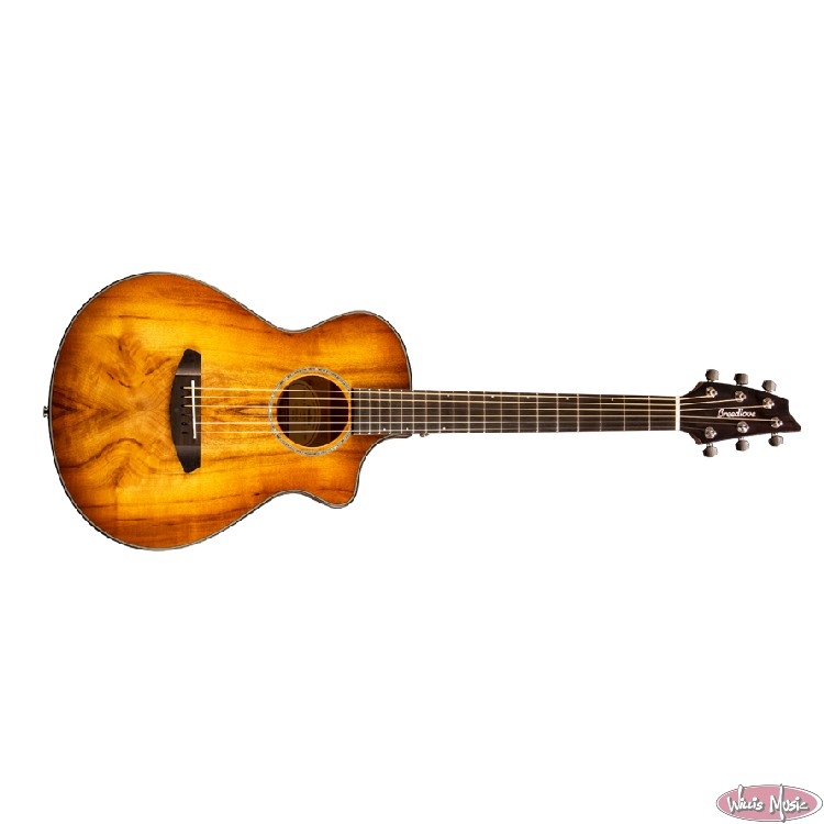 Breedlove Pursuit Exotic Companion CE Myrtlewood Prairieburst W/Gigbag