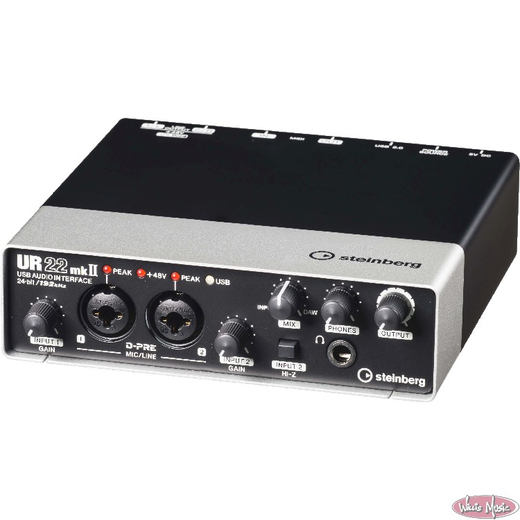 Steinberg USB 2.0 Audio Interface With DSP