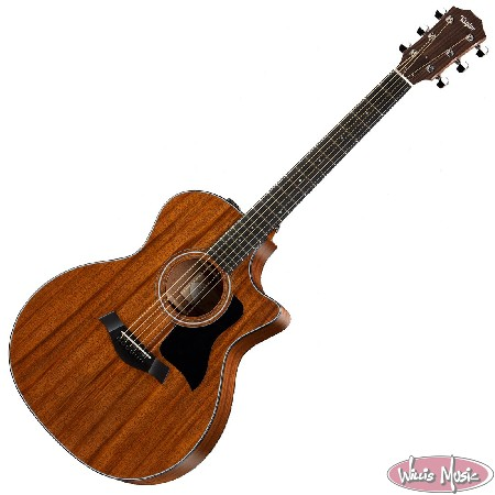 Taylor 324ce Mahogany Cutaway Grand Auditorium 6 String Acoustic Electric