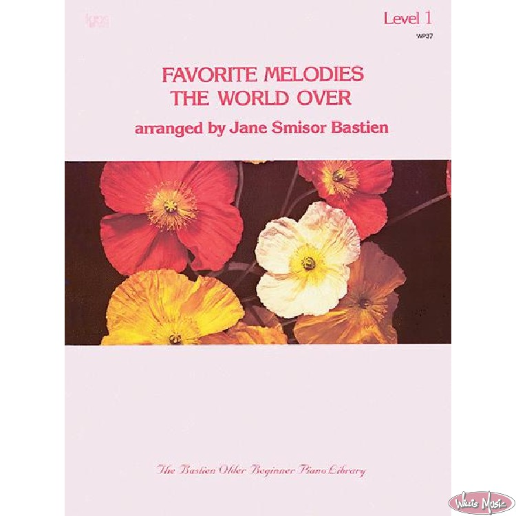 Favorite Melodies The World Over  Level 1
