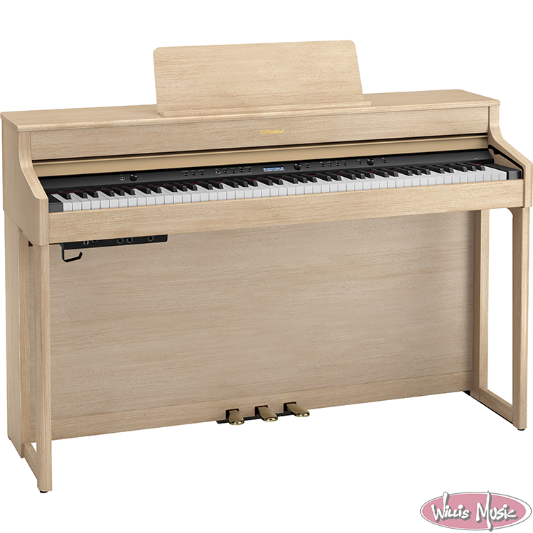 Roland HP-702 Home Piano W/ Bench Pack Light Oak