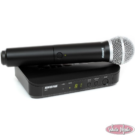 Shure Wireless Blx Handheld Sm