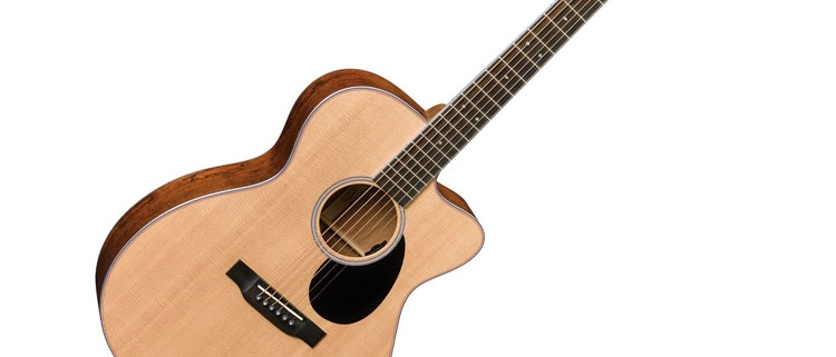 Martin 16 OMC-16E Orchestra Acoustic/Electric Cutaway FSC Certified Includes Hard Case