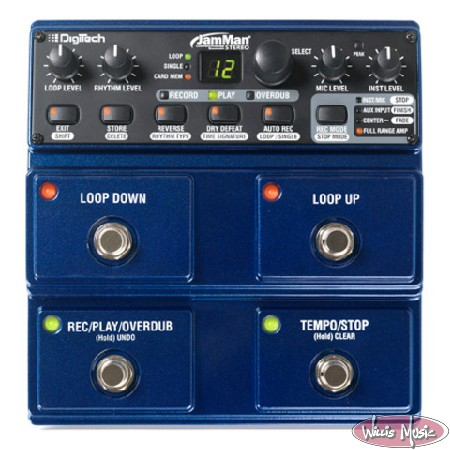 Digitech JamMan Stereo Looper