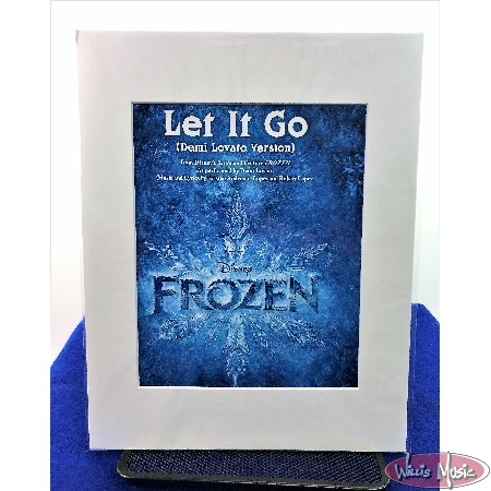 Let it Go (Demi Lovato Version) Matted Sheet Music