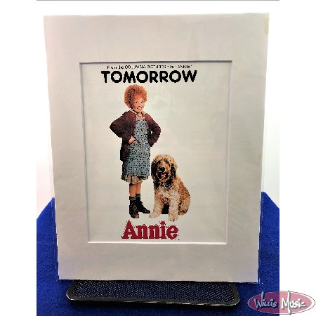 Tomorrow From Annie Matted Sheet Music
